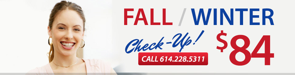 Fall Heating Checkup $77